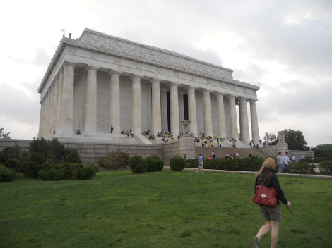 The Lincoln Memorial in Washington D.C. (2012)